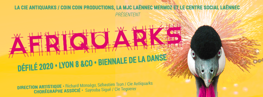 Afriquarks - Défilé de la Biennale de la Danse